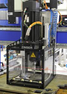Zinser Bohraggregat bei WSZ GmbH