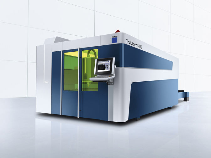 TruLaser 5040 fiber 2000 x 4000 mm bei WSZ GmbH